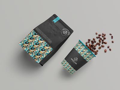 Coffee shop | Cântico café brand design minimalist creative design graphicdesigner branding logodesign brand logo coffeeshop coffee