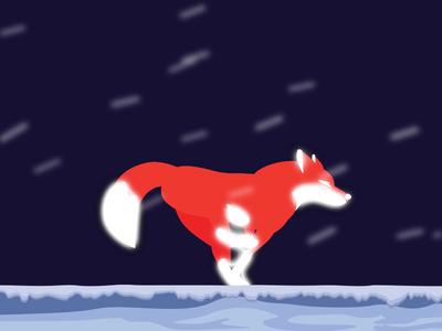 Fox Running Cycle run cycle run loop animals running running cycle cute character illustration albania gif fun motion animation fox