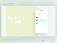 "Daily UX- ""Search Friends"""