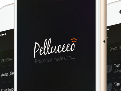 Pelluceeo pelluceeo design psd iphone6 mobile broadcast ios