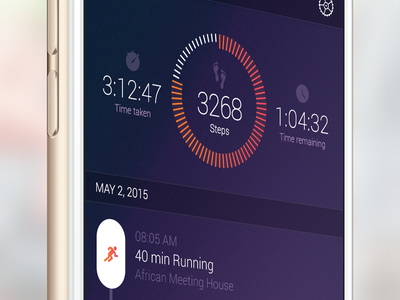 Keep on Running mobile iphone health stats innovation