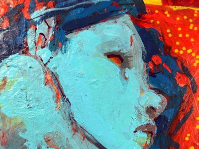Acrylic Painting Detail