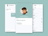 Whatsapp messenger redesign concept