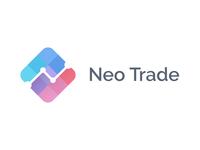 Trading / Blockchain logo