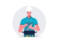Chef animation