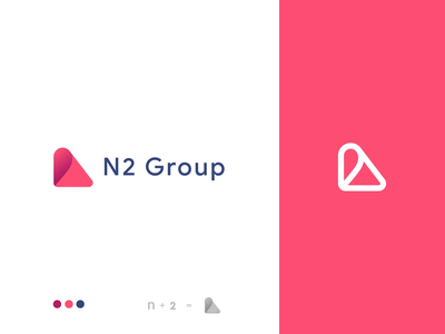 N2 groups logo idenity website illustration gif brand logo n logo logo animation design branding logo icon animation animation
