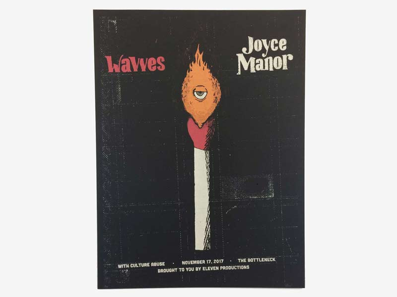 Wavves, Joyce Manor Gig Poster
