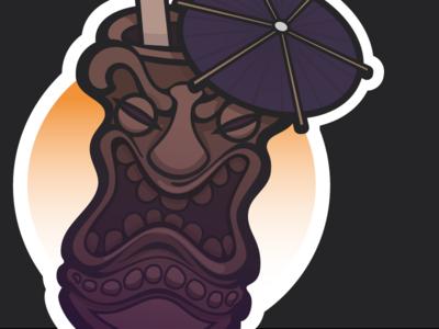 Tiki Illustration WIP