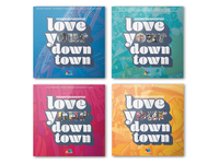 Love Your Downtown Poster Series