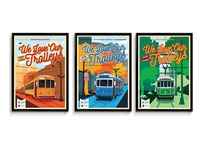 Trolley Poster Series