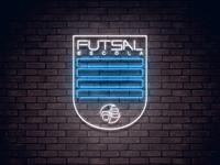 Neon Soccer Badge