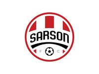 Sarson FC Crest