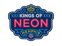 Kings of Neon badge