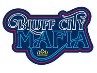 Bluff City Mafia Neon Logo