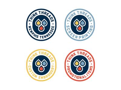 Think Threads Badges