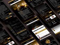 Responsive screens Nespresso