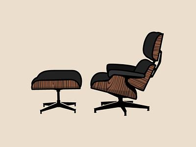 The Furniture Project 1: Herman Miller Eames Lounge the furniture project tfp herman miller eames drake evans drk.