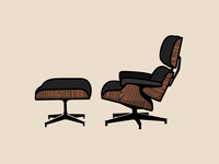 The Furniture Project 1: Herman Miller Eames Lounge