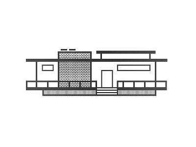 Casa Minimales II drake-evans.com evans drake illustration house modern