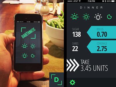 Diabetamatic -- Insulin Calculator Webapp diabetes insluin app iphone web app