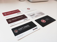 New 50onRed Business Cards