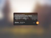 DailyUI - Music Player