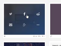 DailyUI - Social Share
