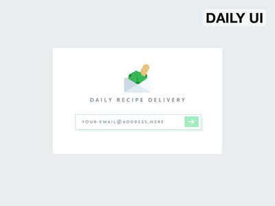 DailyUI - Subscribe