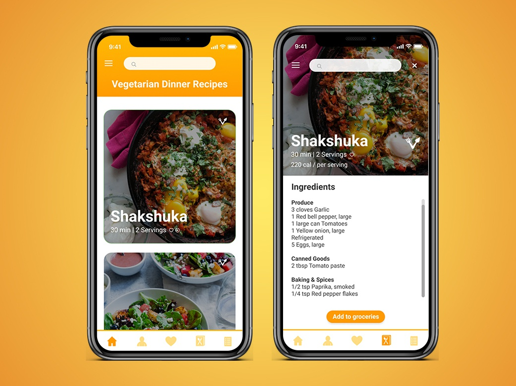 Daily UI Challenge  - Recipe dailyuichallenge dailyui