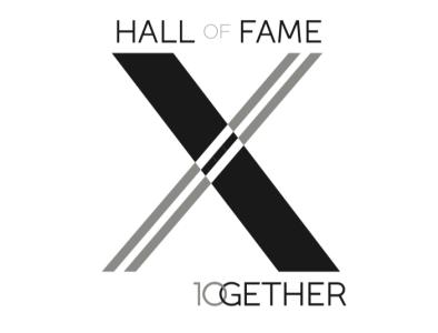 Hall of Fame Logo design concept development brand hall of fame logo