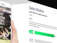 Mobile Sales Slides | Free Download