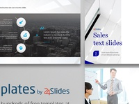 Text Slides Template | Free Download