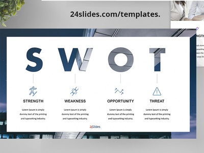Swot Analysis Powerpoint Templates Free Download By 24slides
