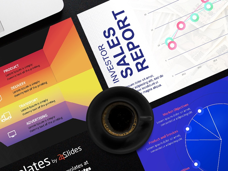 investor relations powerpoint template   free download24slides, Investor Relations Presentation Template, Presentation templates