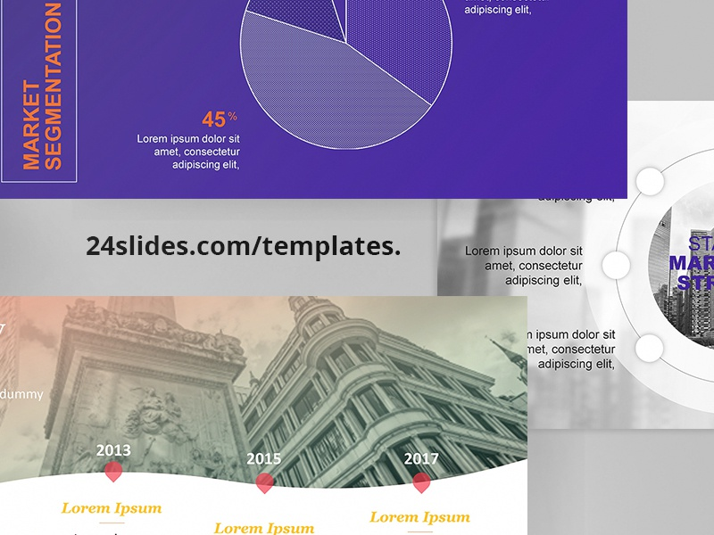 Pitch Deck PowerPoint Template | Free Download by 24Slides