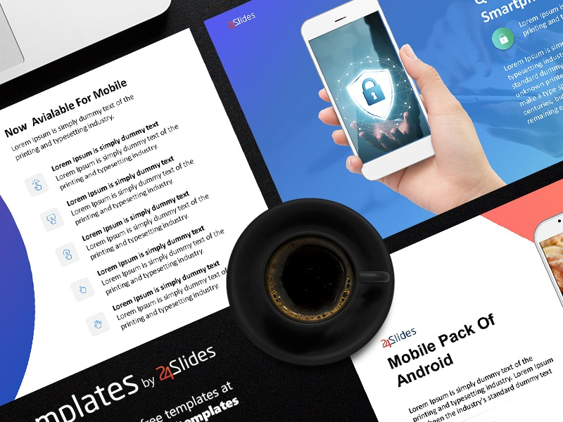 Android mobile powerpoint template free download by 24slides 79 2 toneelgroepblik Image collections