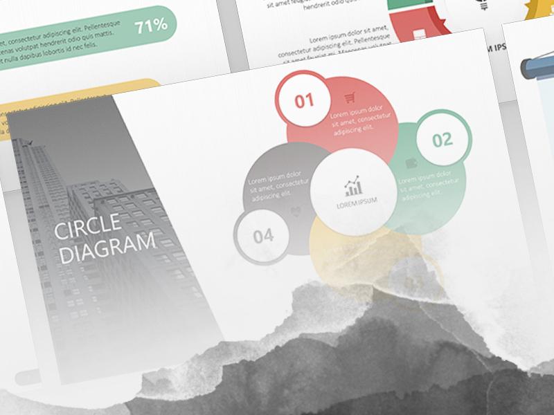 Circle diagram powerpoint template free download by 24slides 97 5 toneelgroepblik Gallery