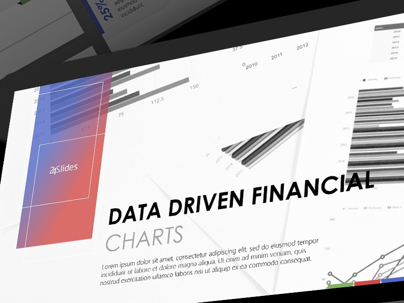 Data Driven Financial Powerpoint Template Free Download By