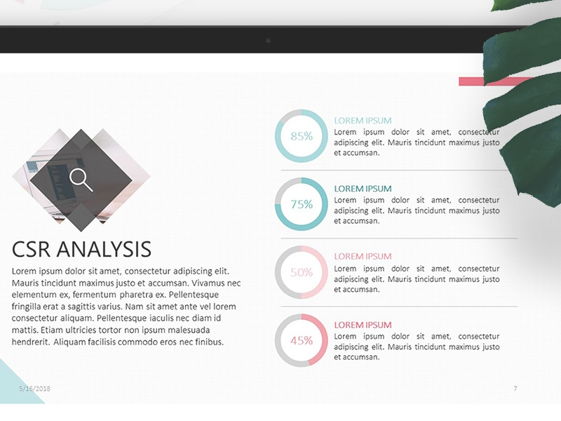 Csr Analysis Powerpoint Template Free Download By 24slides