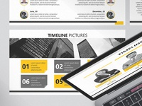 Timeline Picture Corporate Presentation Template | Free Download
