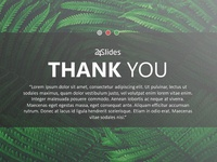 Thank You Slides PowerPoint Template | Free Download