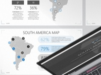 South America Map PowerPoint Template | Free Download