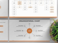 Organizational Chart Presentation Template | Free Download