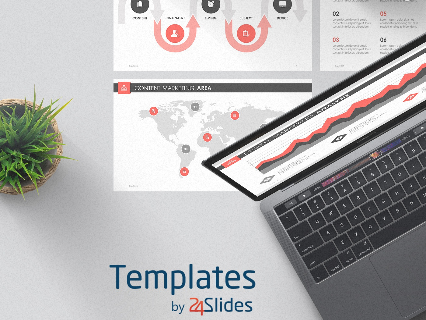 Digital Marketing Powerpoint Template Free Download By