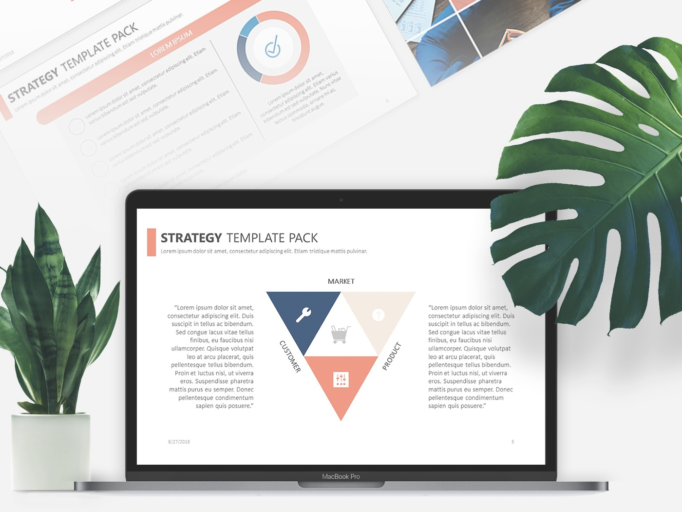Strategy Powerpoint Template Free Download By 24slides Dribbble