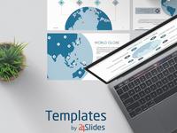 World Globe Presentation Template | Free Download