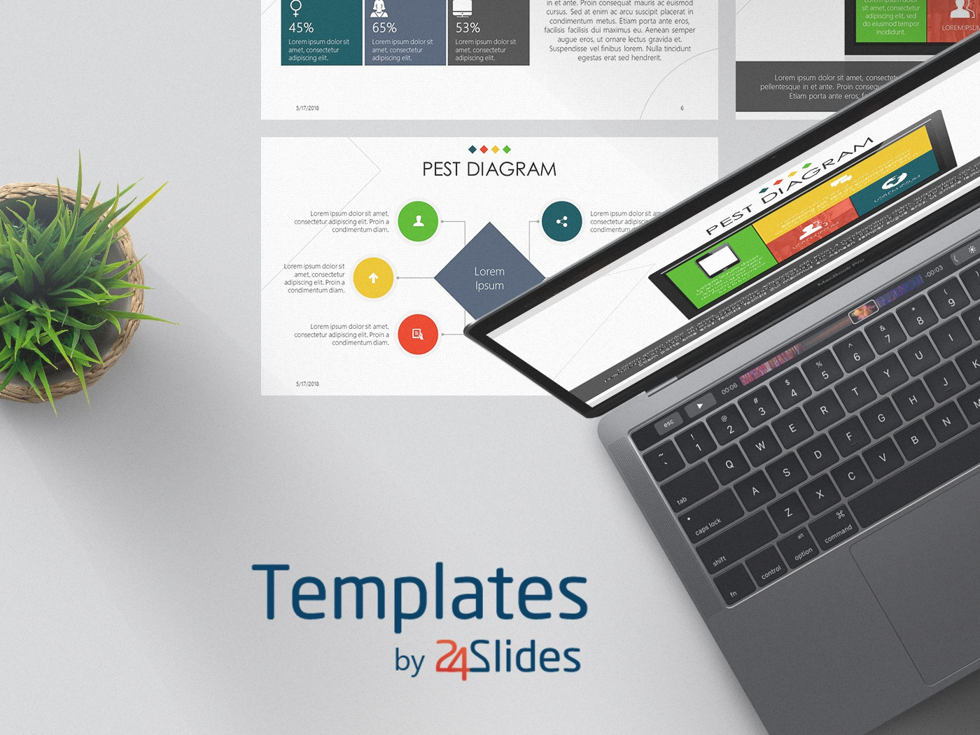 PEST Diagram Presentation Template | Free Download by