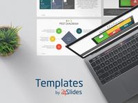 PEST Diagram Presentation Template | Free Download