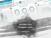 Copywriter Pitch Deck Presentation Template | Free Download