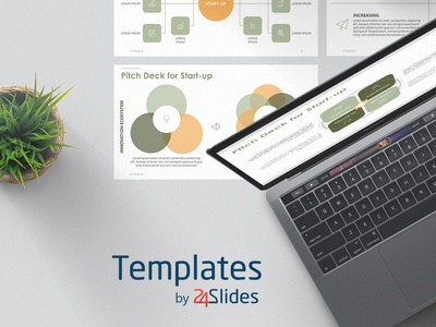 Pitch Deck for Startup Presentation Template | Free Download presentationdesign branding powerpoint modern 24slides presenting templates presentations keynote
